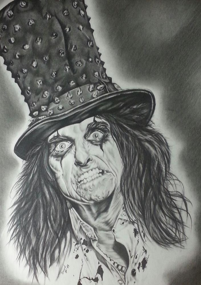 Alice Cooper by Callahan